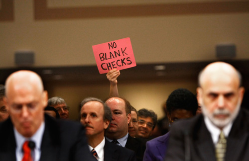 Bailout with no blank checks.