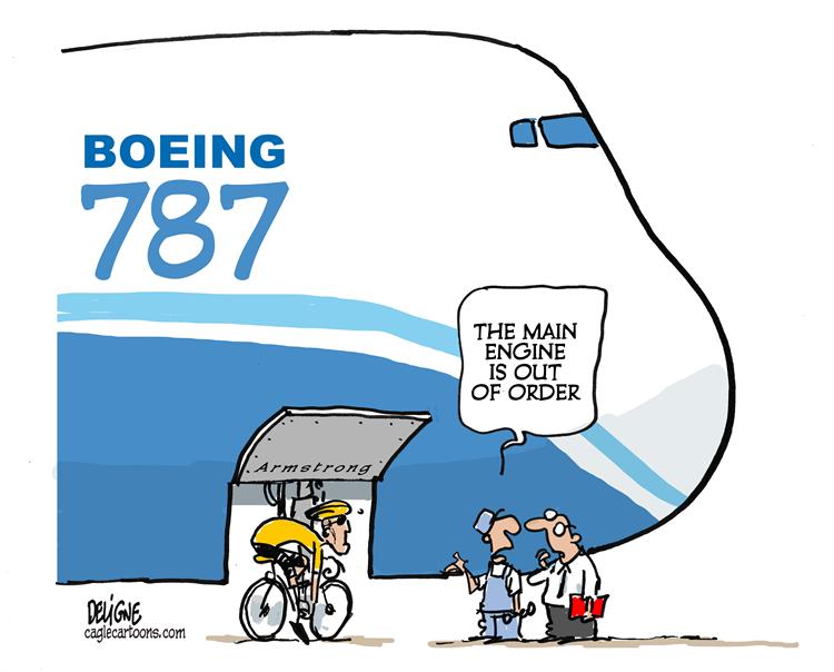 Boeing Cartoon.  @kiscocap  www.kiscocap.com